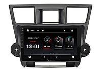 "ШГУ Toyota Highlander 07-13 (Nakamichi NTA-2214) 4x50Вт, USB, BT, 2,5D экран, MirrorLink, 10"""