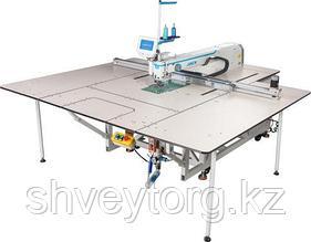 Программируемая швейная машина челночного стежка для настрачивания деталей по шаблону JACK JK-MT-90C-83TX-F11