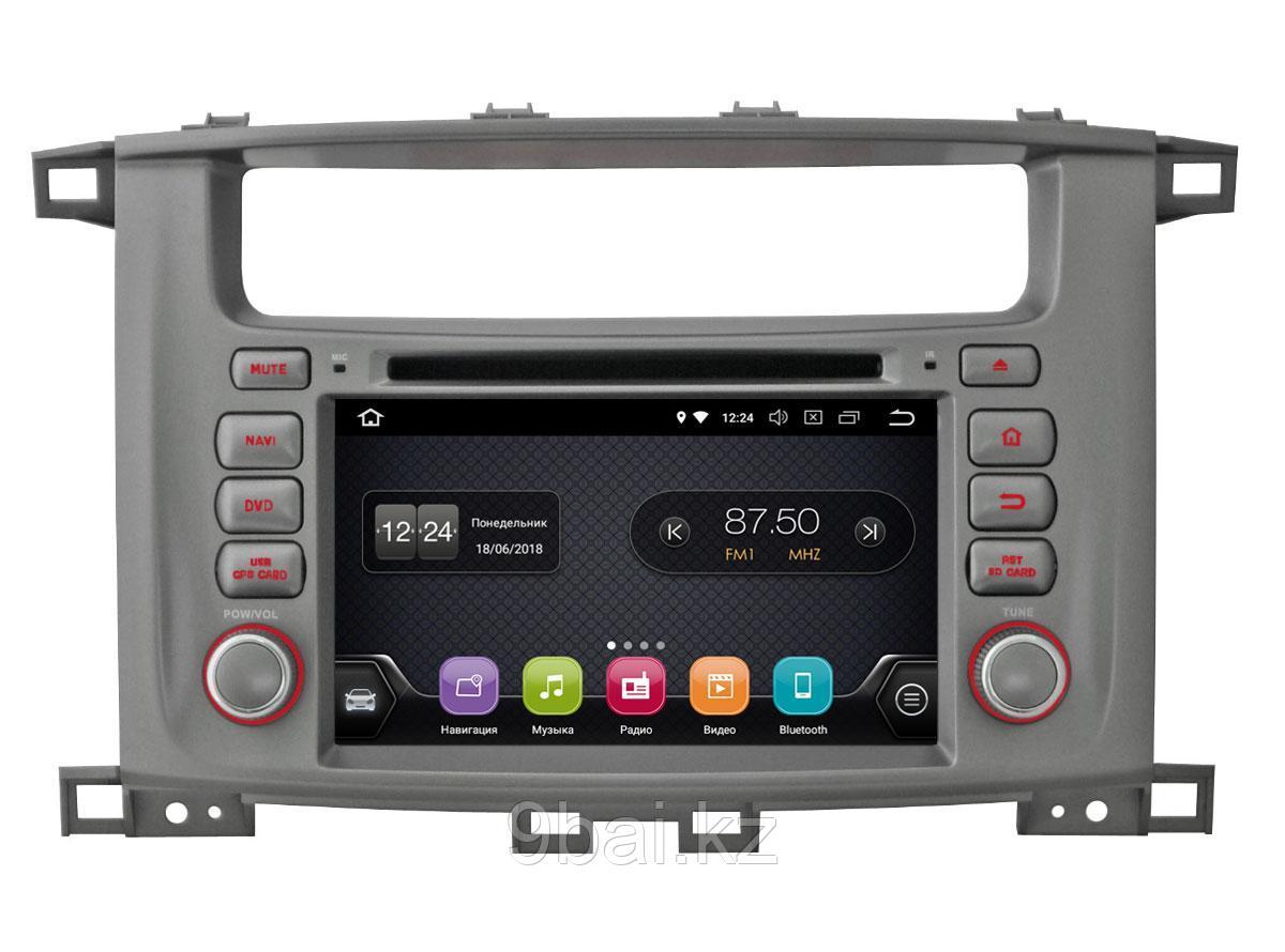 "ШГУ Toyota LC 100 (INCAR TSA-2242) Android 8.0/1024*600,wi-fi, 7"""