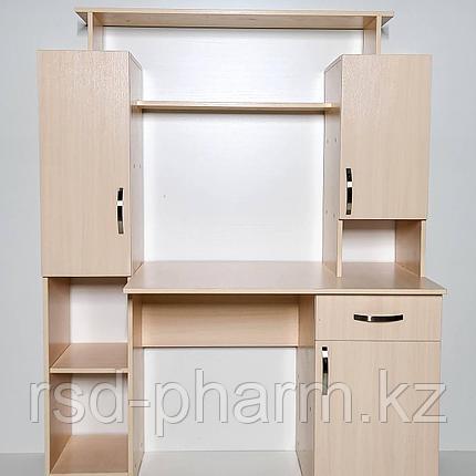 Компьютерный стол (Дуб молочный), фото 2