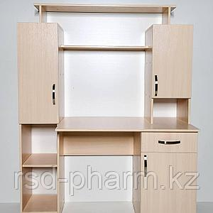 Компьютерный стол (Дуб молочный)