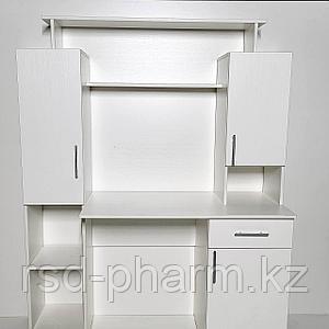 Компьютерный стол (Белый текстурный)