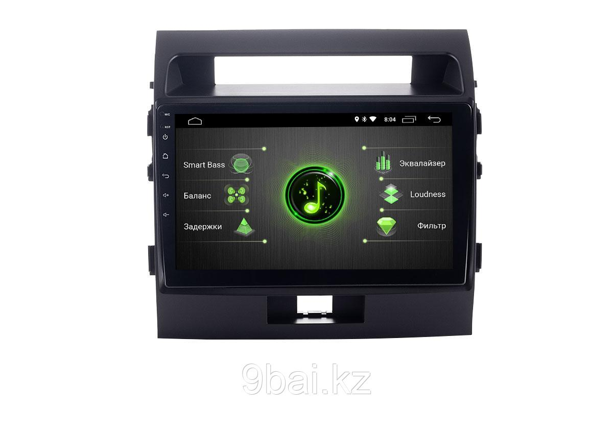 """ШГУ Toyota LC 200 07-15 (INCAR DTA-2212) Android 10/1024*600, IPS, wi-fi, 10"""", DSP"""