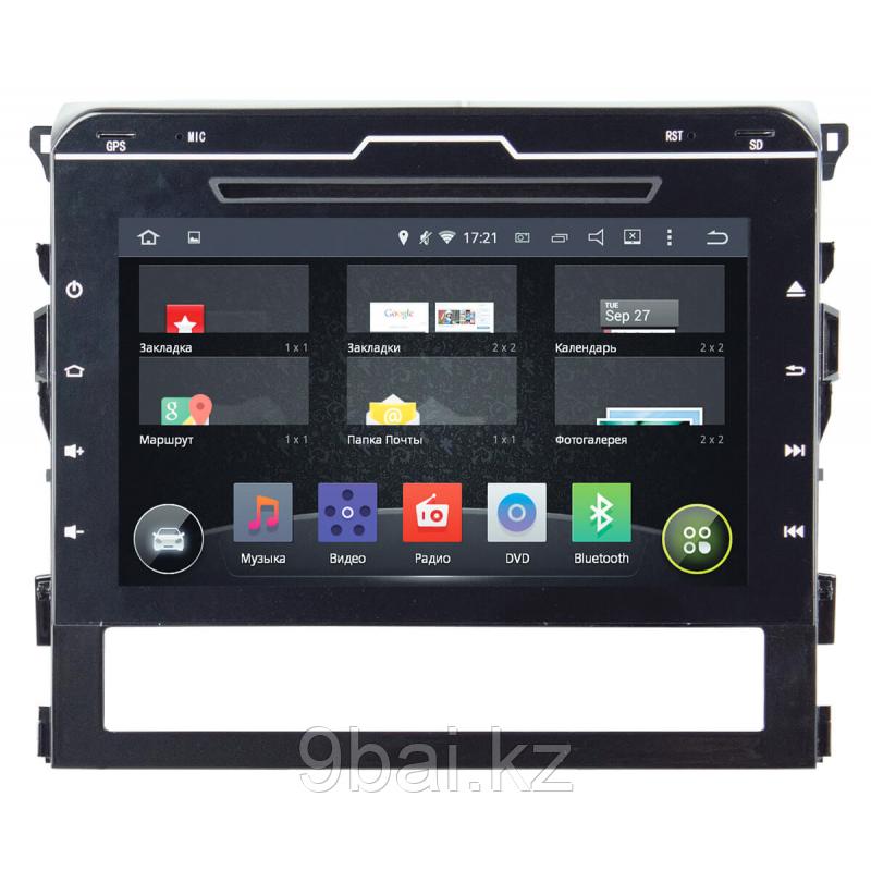 "ШГУ Toyota LC 200 16+ (INCAR AHR-2239) Android 4.4.4/1024*600,wi-fi/ без ориг. монитора, 9"""