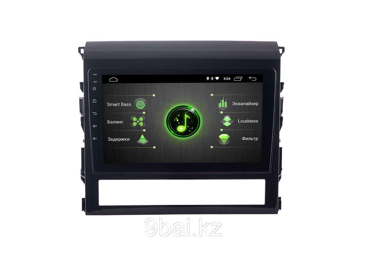 """ШГУ Toyota LC 200 16+ (INCAR DTA-2216) Android 10/1024*600, IPS, wi-fi, 9"""", DSP"""