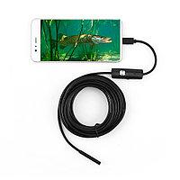 USB камера эндоскоп 5 метров, диагностика двигателя, камера для рыбалки.
