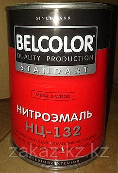 Эмаль НЦ-132 0,7 кг коричневая