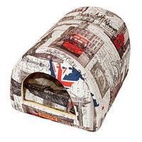 Домик Тоннель (флок) КСОДИ Лондон 50*36*30 см