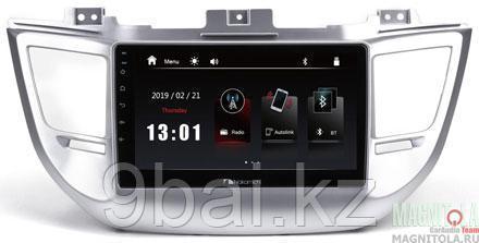 "ШГУ Hyundai Tucson 16-18 (Nakamichi NTA-2404) 4x50Вт,RDS,MP5,USB,BT,2.5D экран,мультиподсветка,MirrorLink, 9"""