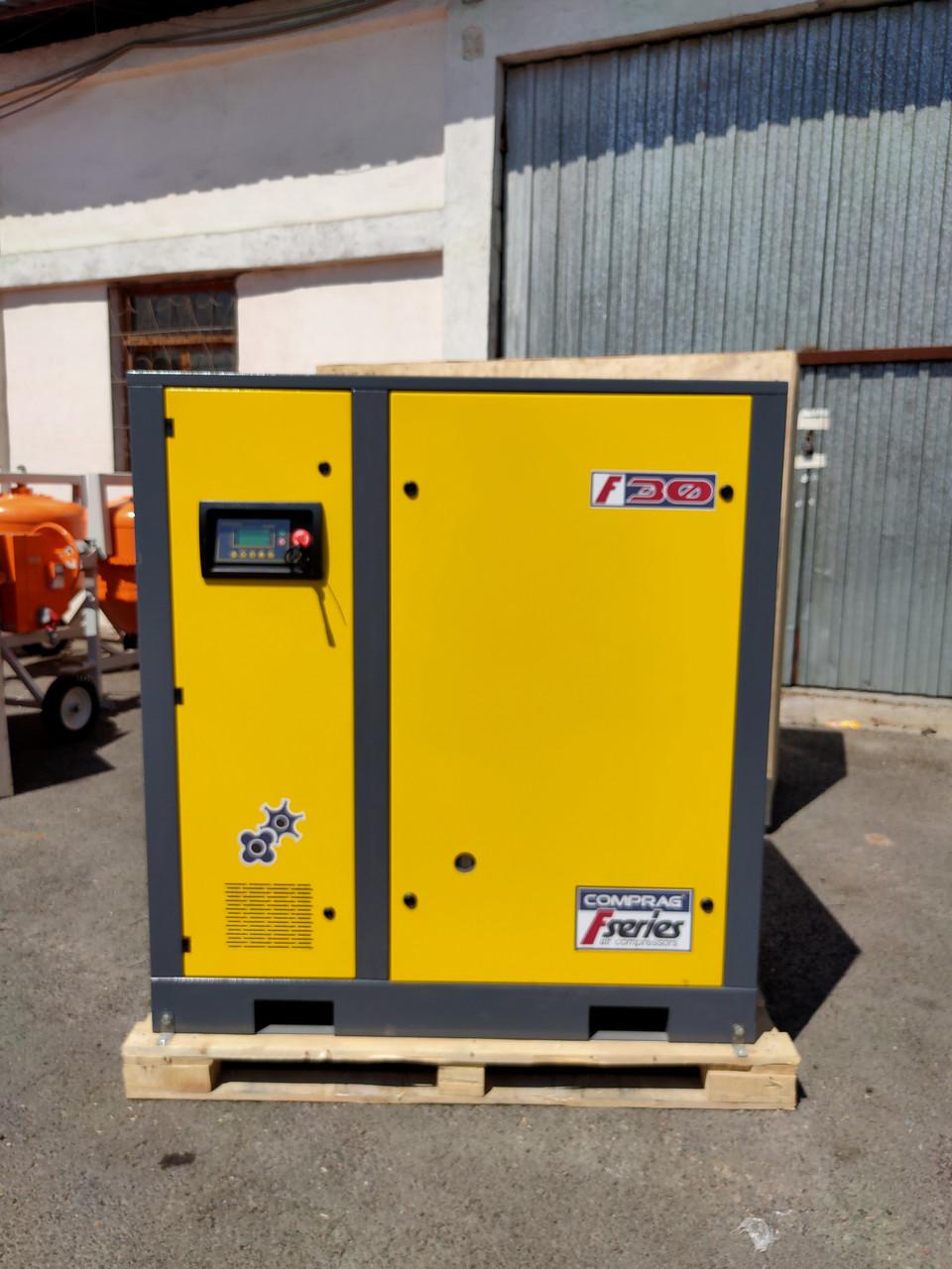 Электрический компрессор F 30/10 стационарный.