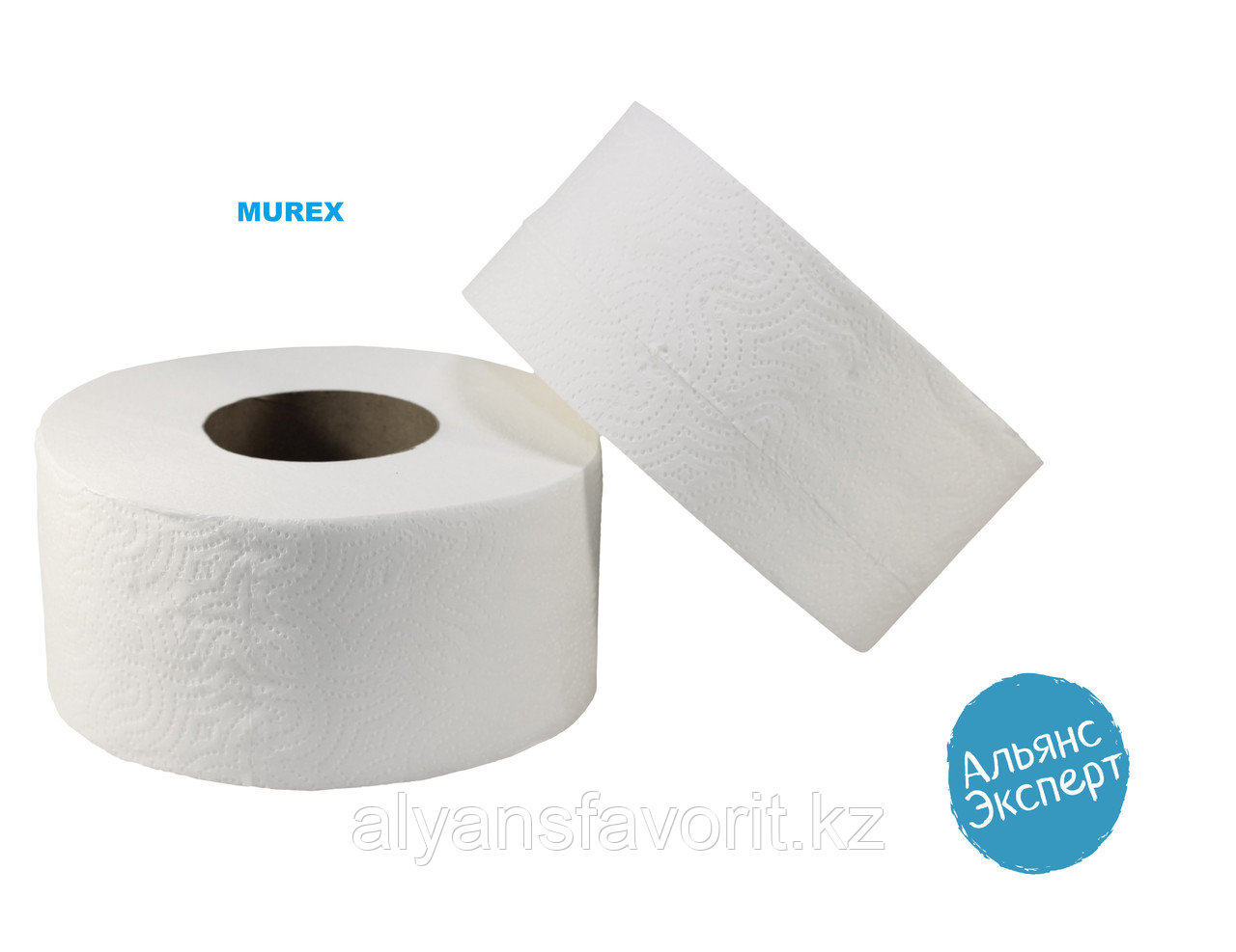 Туалетная бумага Jambo 120 м, 12 рул. в упаковке. MUREX