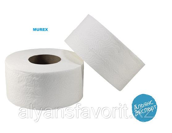 Туалетная бумага Jambo 120 м, 12 рул. в упаковке. MUREX, фото 2