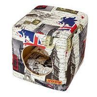 Домик Куб трансформер Лондон №2 (флок) КСОДИ 35*35*35 см, фото 1
