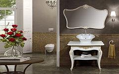 Коллекция Портофино 100 см (белое, золото)