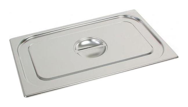 Крышка для гастроемкости GN 1/1 (530x325) нерж. сталь