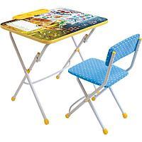 Набор мебели Ника стол+пенал+стул 3 7 лет Феи зимнего леса