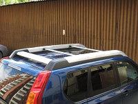 Оригинальные поперечины на крышу Nissan X-Trail T31