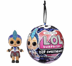 LOL Surprise Кукла ЛОЛ Мальчик Панк Бой в шарике, BFF Sweethearts Punk Boi Оригинал