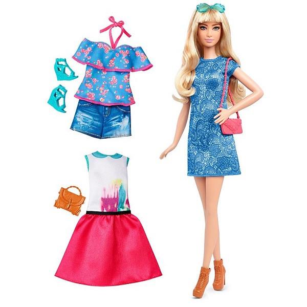 """Barbie """"Игра с модой"""" Кукла Барби Блондинка с набором одежды, Лэйси Блу #43 (Высокая)"""