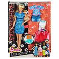 """Barbie """"Игра с модой"""" Кукла Барби Блондинка с набором одежды, Лэйси Блу #43 (Высокая), фото 6"""