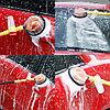 Вращающаяся щетка с насадкой для шланга Water Blast Дачный сезон!, фото 7