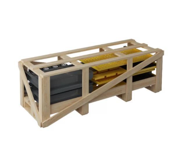 Упаковка жесткая (деревянная)