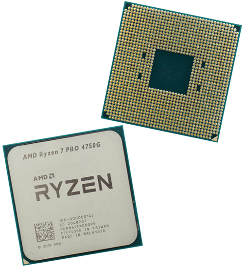 Процессор AMD Ryzen 7 PRO 4750G, oem CPU 3.6GHz (Renoir, 4.4), 8C/­16T, 3/­36MB, 65W, AM4