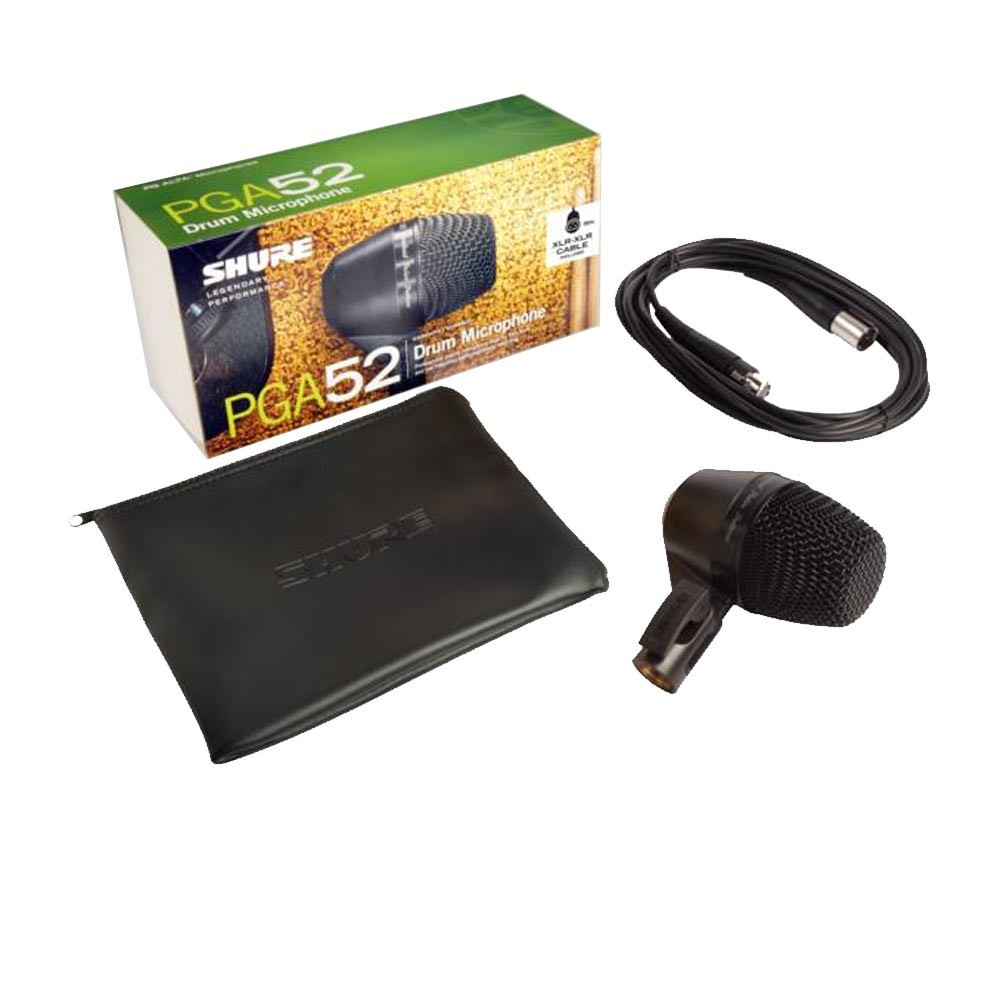 Инструментальный микрофон Shure PGA52-XLR - фото 2