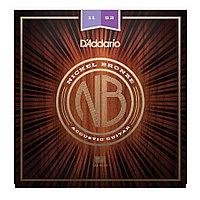 Струны для акустической гитары D'addario NB1152