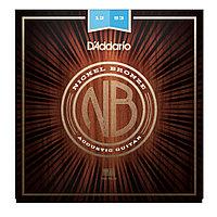 Струны для акустической гитары D'addario NB1253