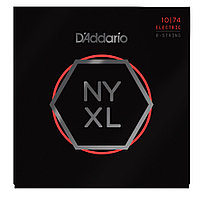 Струны для 8-струнной электрогитары D'addario NYXL1074