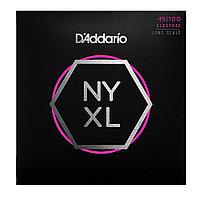 Струны для бас-гитары D'Addario NYXL45100