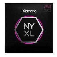 Струны для 5-струнной бас-гитары D'Addario NYXL45130