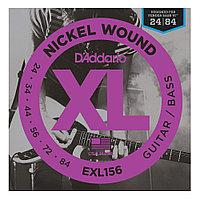 Струны для бас-гитары D'Addario EXL156
