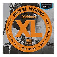 Струны для электрогитары D'Addario EXL140-8