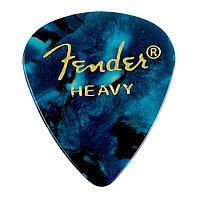 Медиатор Fender Ocean Turquoise 351 Shape Heavy