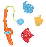 Набор игрушек Happy Baby для ванной FISHMAN Orange