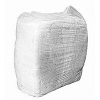 Х/Б тряпье, белого цвета 10кг / Cotton rags white color 10kg