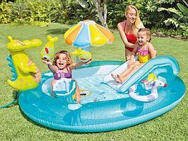 Водный игровой центр Крокодил 57165 Intex