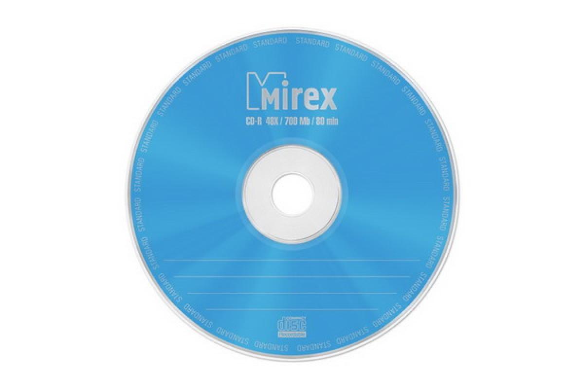 Диск CD-R Mirex STANDARD 700 Мб 48х