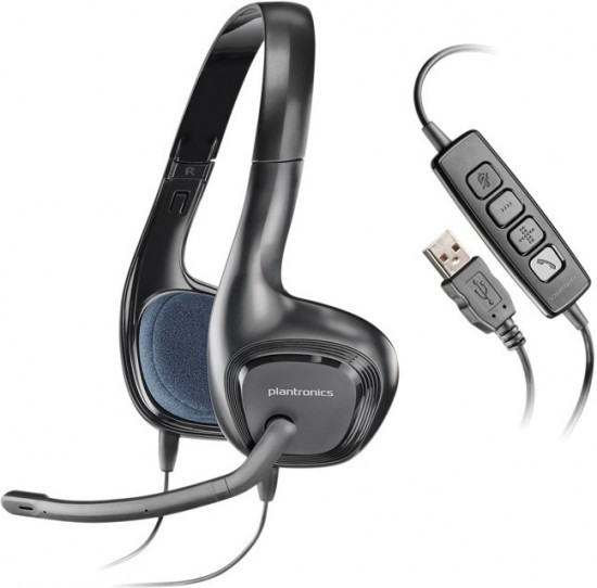 Гарнитура Plantronics Audio 628 черный