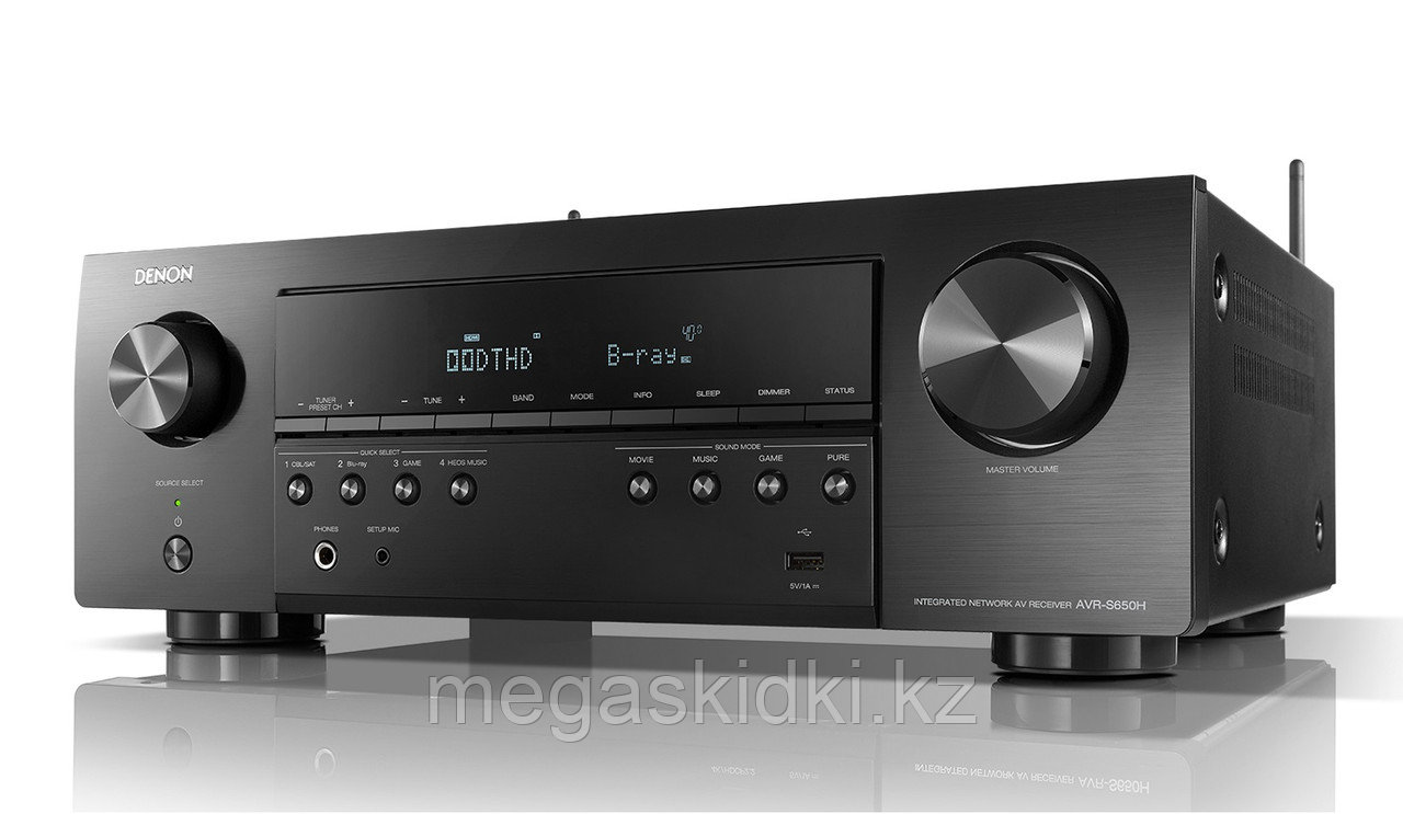 AV-ресивер DENON AVR-S650H Черный