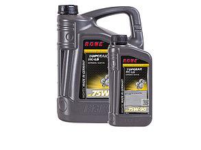 Трансмиссионное масло ROWE HIGHTEC TOPGEAR SAE 75W-90 HC-LS, 6 литров (5L + 1L)
