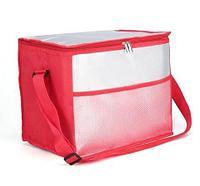 Сумка-термос на молнии с наружным карманом SANNE 8635 [26 литров] (Красный)