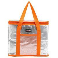 Сумка-термос на молнии с наружным карманом SANNE 8635 [26 литров] (Оранжевый)