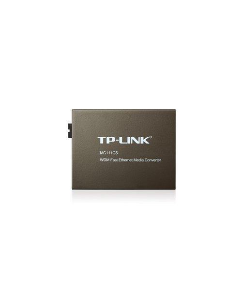 Медиаконвертер TP-Link MC111CS  WDM одномод 20 км