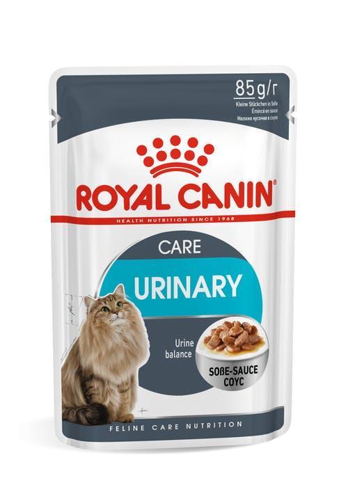Для поддержания здоровья мочевыделительной системы в соусе, Royal Canin Urinary, пауч 85гр.
