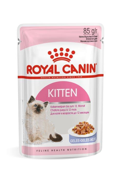 Для котят в желе, Royal Canin Kitten, пауч 85гр.