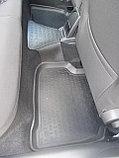Резиновые коврики с высоким бортом для Volkswagen Polo Sedan 2010-2019, фото 3