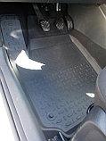 Резиновые коврики с высоким бортом для Volkswagen Polo Sedan 2010-2019, фото 2